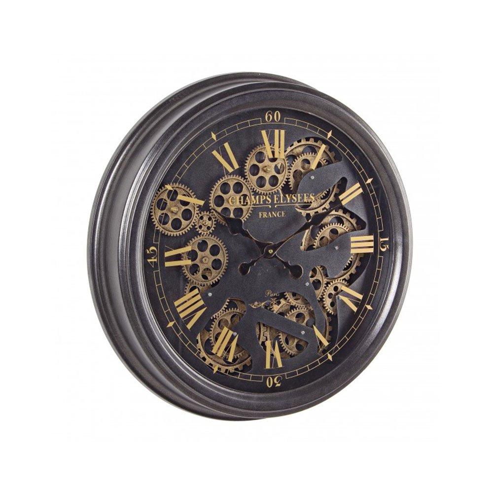 Orologio da Parete Gear Nero