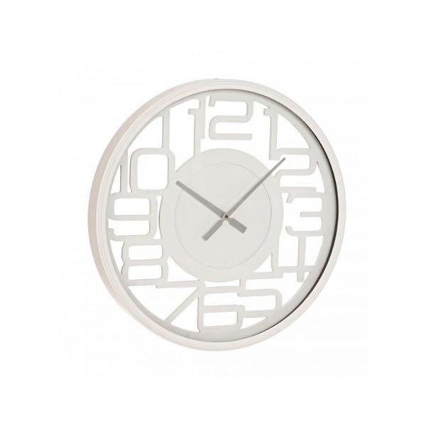 Orologio Ticchettio Bianco