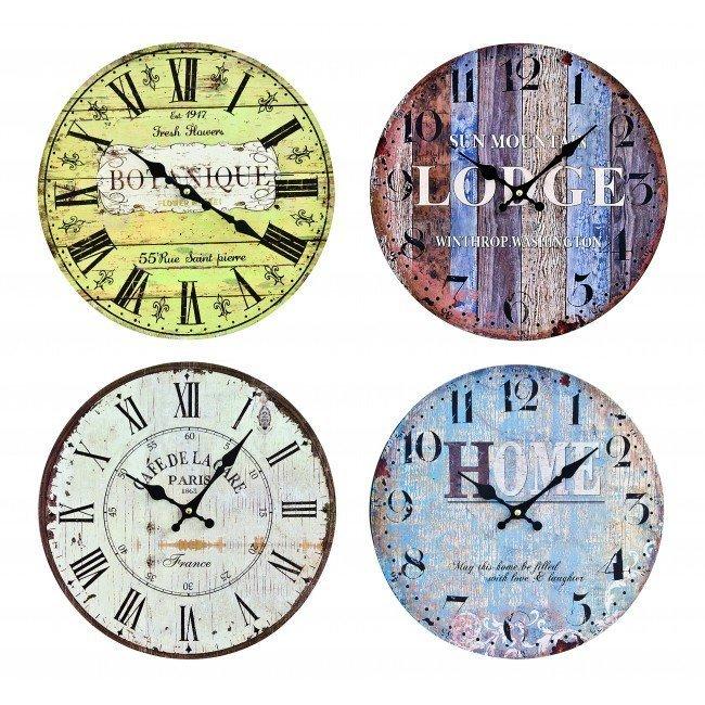 Orologio Parete Lodge Ass4