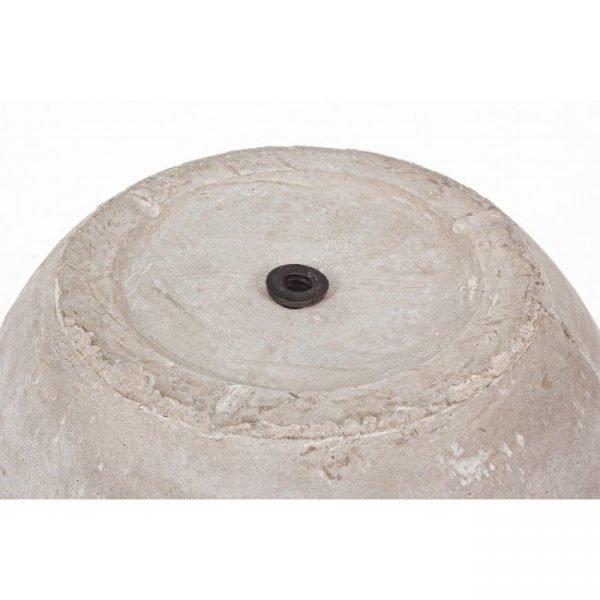 Vaso Cement Classico Sabbia 55H