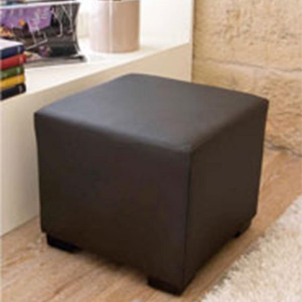 Puff Domino Quadro Brown