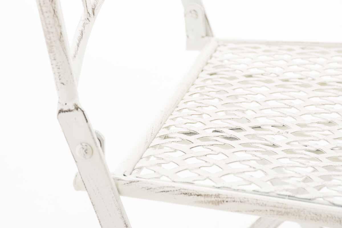 Sedia Lunis Bianco Antico