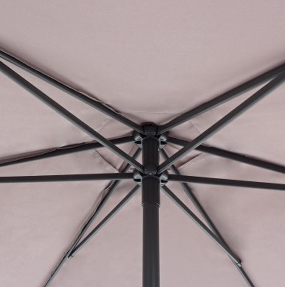 Ombrellone Delfi Antr-Tortora D270