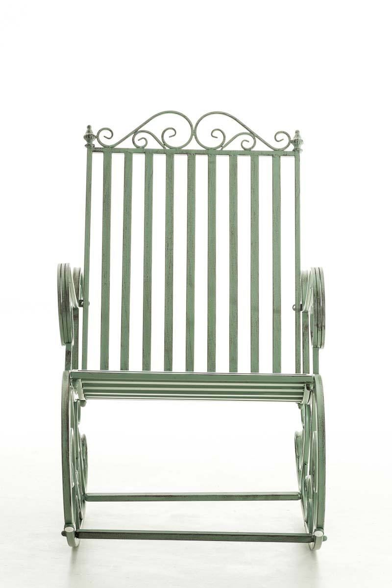 Sedia A Dondolo Smilla Verde Antico