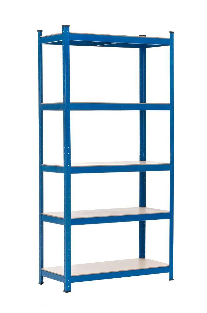Scaffale 90x40x200 Blu