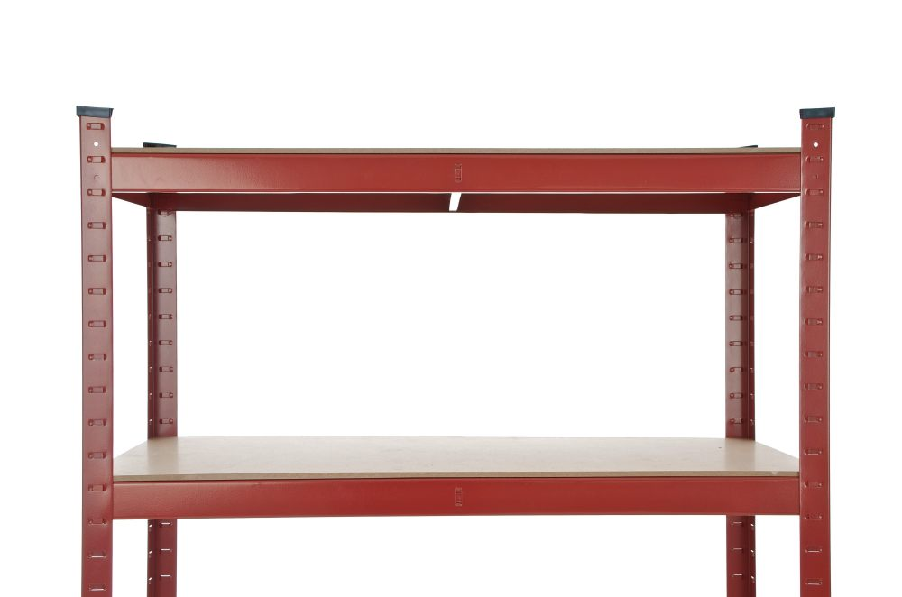 Scaffale 90x40x200 Rosso