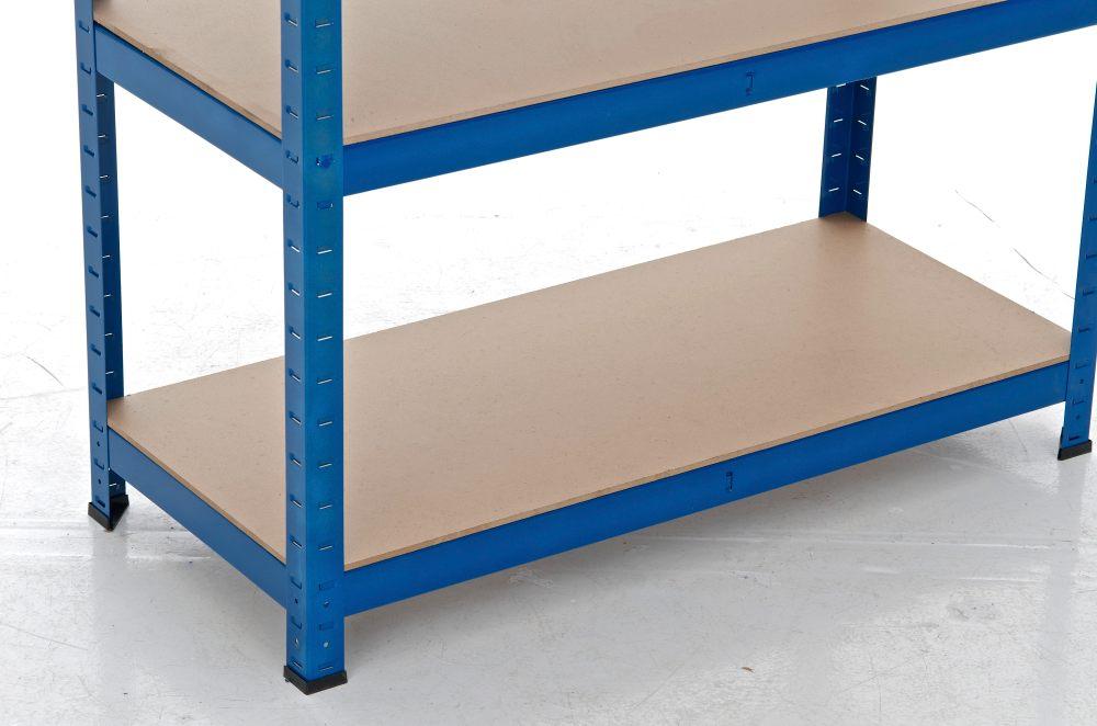 Scaffale 90x60x220 Blu